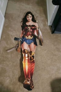 Wonder Woman CardBoard Cutout Humble, 77396