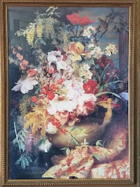 Beautiful Floral Picture with Custom Frame Ocala, 34476