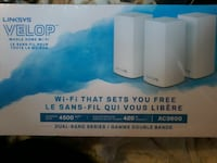Linksys Velop whole home wi-fi SURREY