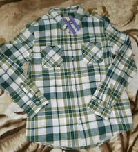New! Boys Flannel Long sleeve