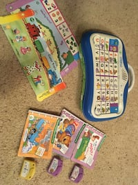 Leap Frog Leap Pad with books Colorado Springs