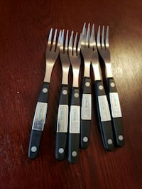 Steak forks...set of 6...Never used Vaughan