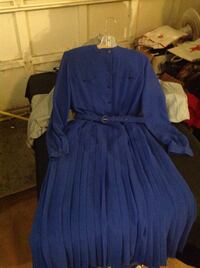 Blue long sleeve maxi dress size 10 SOLD have 1 more size 8 San Antonio, 78230