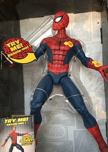 Spider man unopened