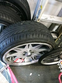20 inch rim like new tires except 1 is 75% Tampa, 33610