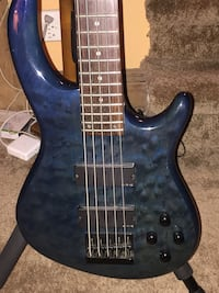 Five String Dean Edge Bass Guitar
