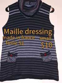 black and gray striped tank top Calgary, T3B 0T3