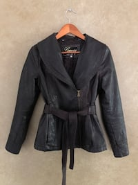 Leather Guess Jacket LaSalle