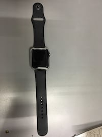 space gray aluminum case Apple Watch with black sports band Bradenton, 34205
