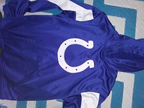 Colts hoodie youth large