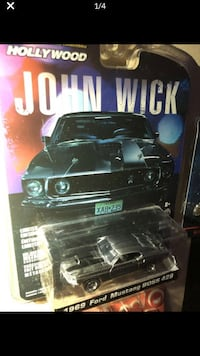 John wick collectible cars from John Wick part 1 and John Wick part 2