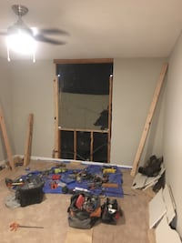 PREP AND FRAME IN NEW VINYL WINDOWS AND DOORS INSTALLED (Windows AVG $250 EA INSTALLED)