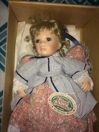 Cottage Collectables porcelain doll Chubbuck, 83202