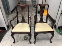 Two claw footed antique chairs  Alexandria, 22309