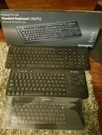 4 Wireless Keyboards sold together 519 mi