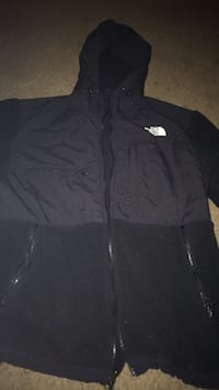 black The North Face zip-up jacket Washington, 20032