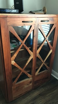 Beautiful wood storage unit.  Westminster, 92683