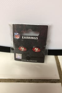 NFL San Francisco 49er Earrings  P U O
