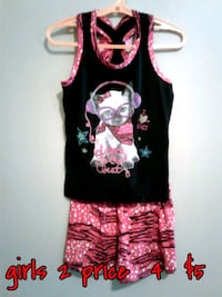 black and pink floral sleeveless dress Calgary, T3B 0T3