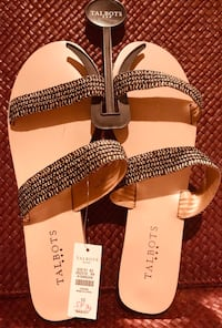 Brand new Talbots sandals, sz 10 Silver Spring, 20904