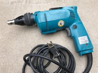 Makita drywall screwdriver model LR22670. Richmond Hill