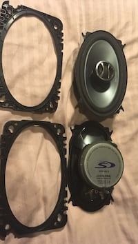 4x6 alpine 2way- car speakers Edmonton, T6E 1S6