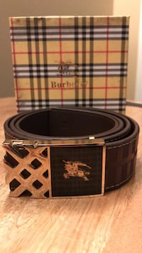 Brown Burberry belt Edmonton, T5Z 3T7