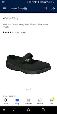 Brand new w/o tags Mary Jane slip on shoes