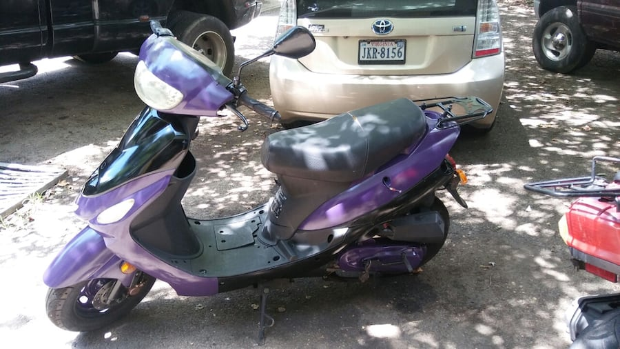 50cc Motor Scooter Purple Fast S'ooter. Just Refurbished!! Runs Great! 9a132d44-7c00-4a52-91b4-fabfd73295f9