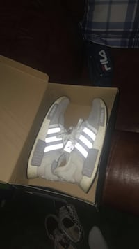 pair of gray Adidas NMD shoes Taylorsville, 28681