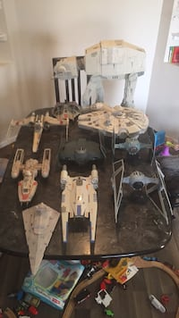 Star Wars vehicle collection