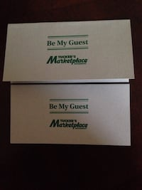 2 Gift Certificates 4 Adults. Buffet, non alcoholic beverage and taxes Toronto, M8Z 3Z7