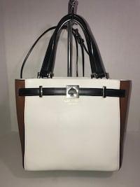 Kate Spade 2 Way Bag (Wht/Blk/Tan) Milton, L9T 4K1
