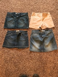 3 Skirts and a pair of Shorts - $15 Reading, 19604