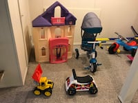 Kid's tricycle, ride-on, seesaw, castle, kitchen, car, slide, $5 & up Baltimore
