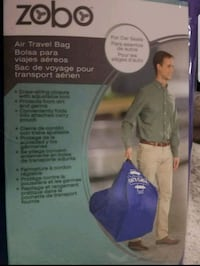 Air travel bag for car seat