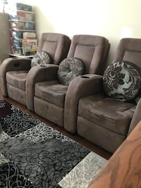 Movie Chair Electric 3 pc