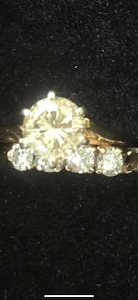 14 K 1 carat solitaire & band Woodbridge, 22193