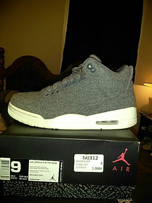 new concept f9448 daa7d Used Air Jordan 3 retro Wool for sale in Memphis - letgo