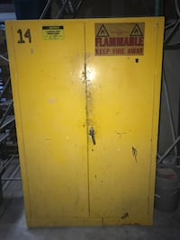 Flammable storage cabinet for paints and liquids 45 gallon capacity  Longwood, 32750