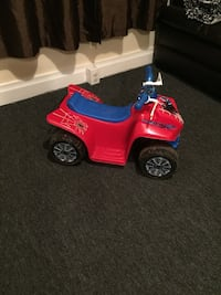 SpiderMan Ride on Toy w/ Charger 6V  Broussard
