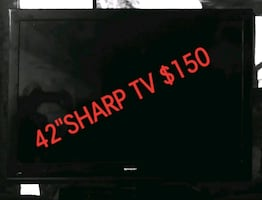 "Sharp 42"" TV"
