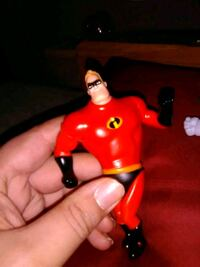 2018 Mcdonald's Disney - Incredibles 2 - Mr. Incredible Figure/toy Middle River, 21220