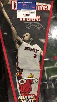Dwayne wade limited edition pennant  Great Mills, 20634