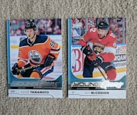 2 NHL Young Guns Markham