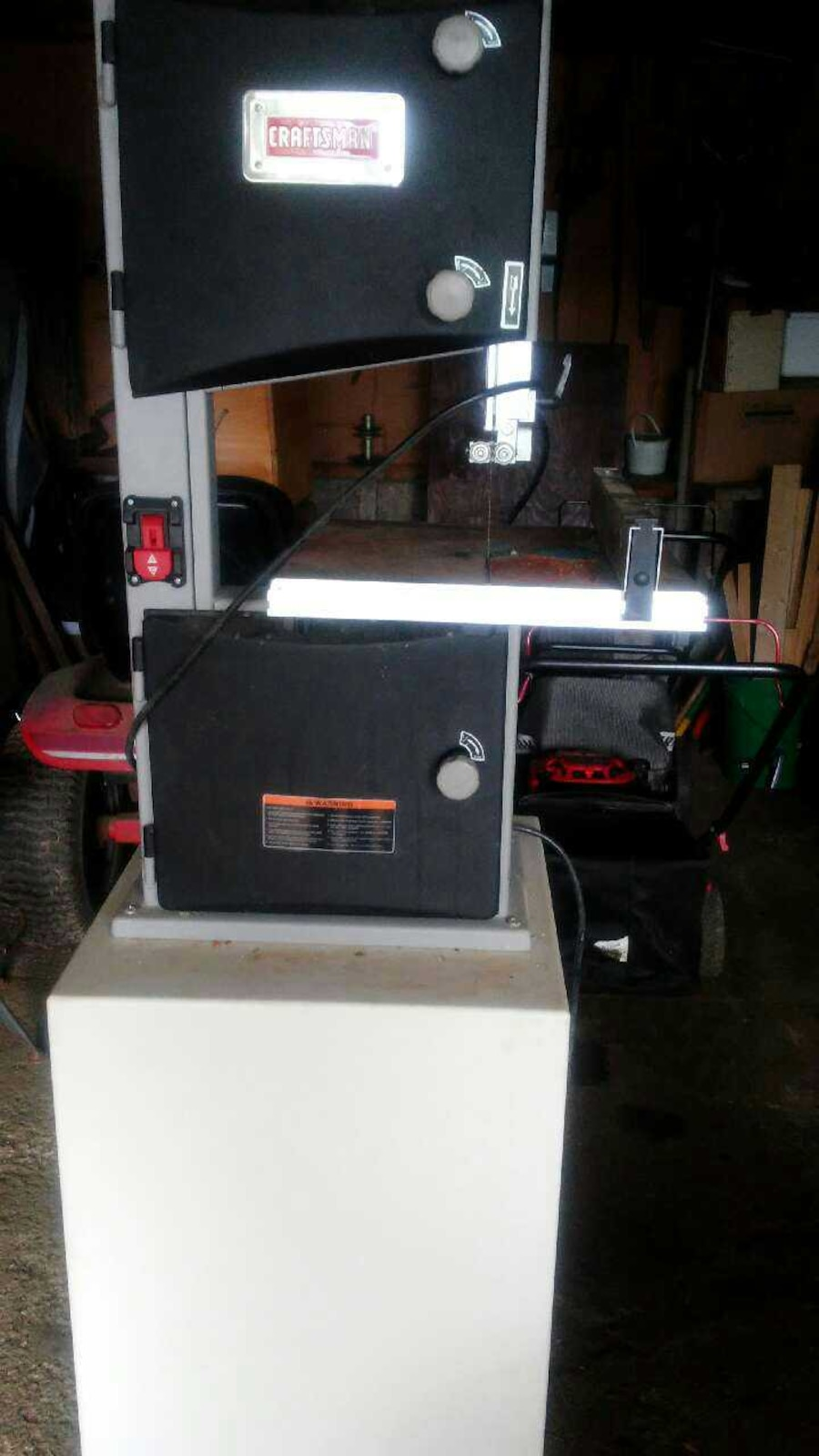 Used Craftsman 10 Inch Band Saw In Bartonville