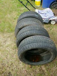 four black auto tire set Shreveport, 71106