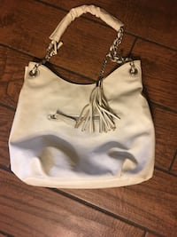 White leather handbag  Huntsville, 35816