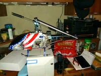 red and black RC helicopter Riverside, 92507