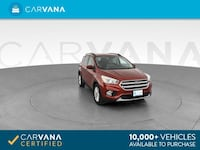 2017 Ford Escape suv SE Sport Utility 4D Red Brentwood